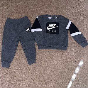 Toddler boy nike air outfit